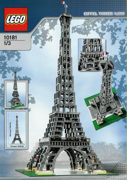 10181 1 Eiffel Tower 1300 Scale Swooshable