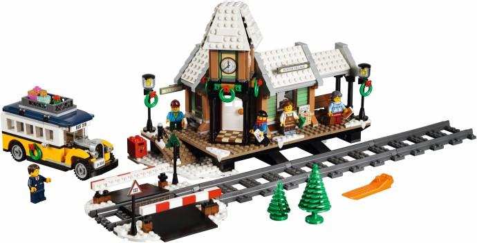 10259 1 Winter Village Station Swooshable