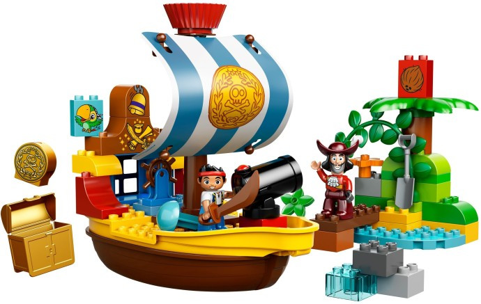 10514 1 Jakes Pirate Ship Bucky Swooshable
