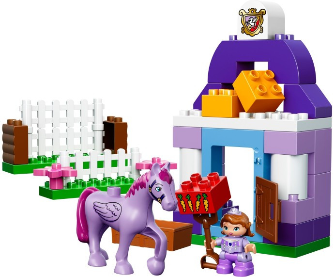Instructions for #10594-1 Sofia the First Royal Stable