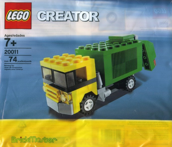 20011 1 Garbage Truck Polybag Swooshable