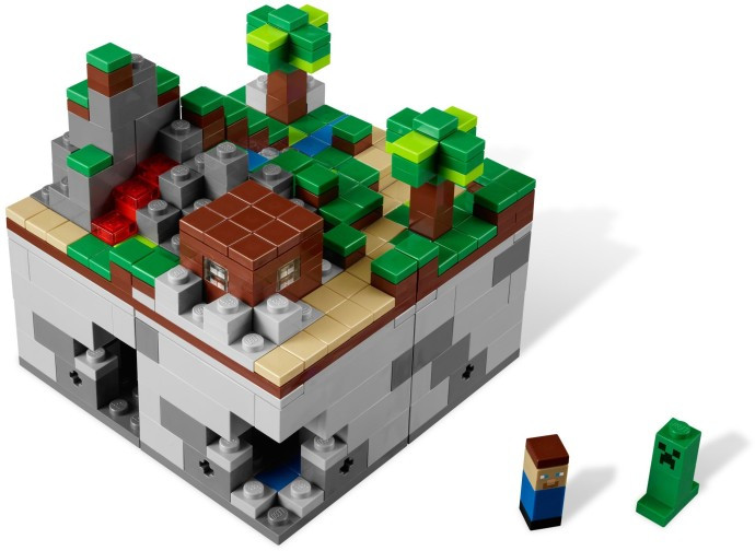 21102 1 Minecraft Micro World Lego Ideas The Forest Swooshable