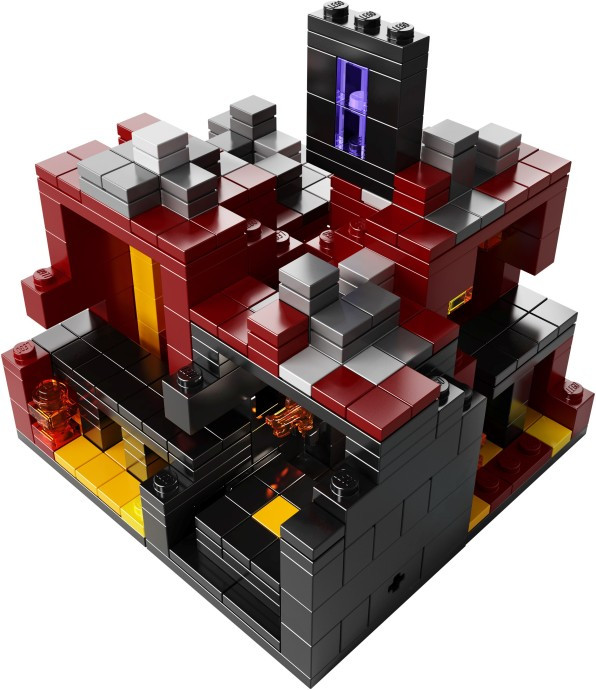 21106 1 Minecraft Micro World The Nether Swooshable