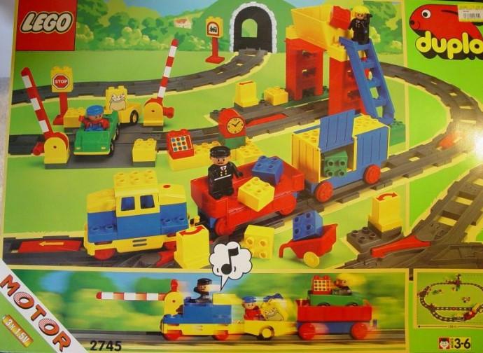 2745 1 Deluxe Lego Duplo Battery Cargo Train Swooshable
