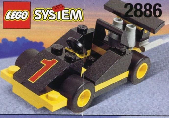Instructions for #2886-1 Formula 1 Racing Car