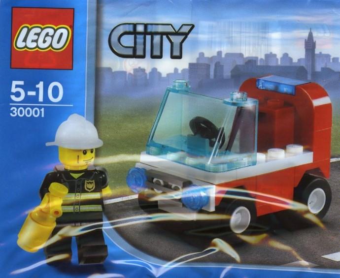 30001 1 Firemans Car Polybag Swooshable