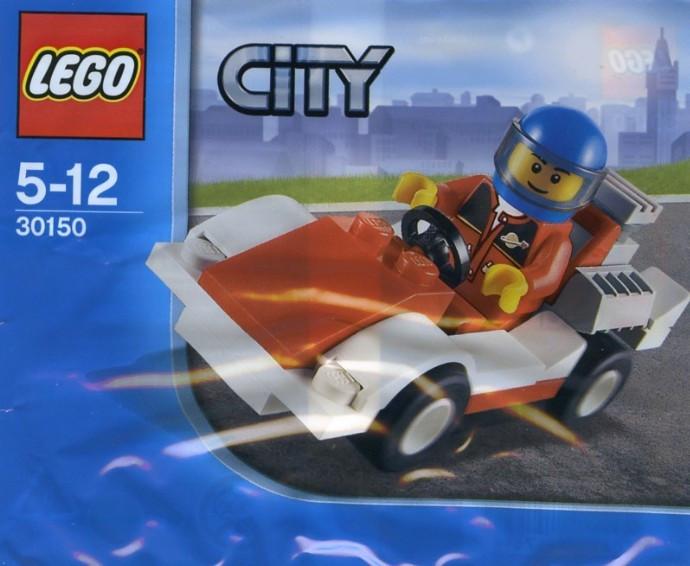 30150 1 Race Car Polybag Swooshable