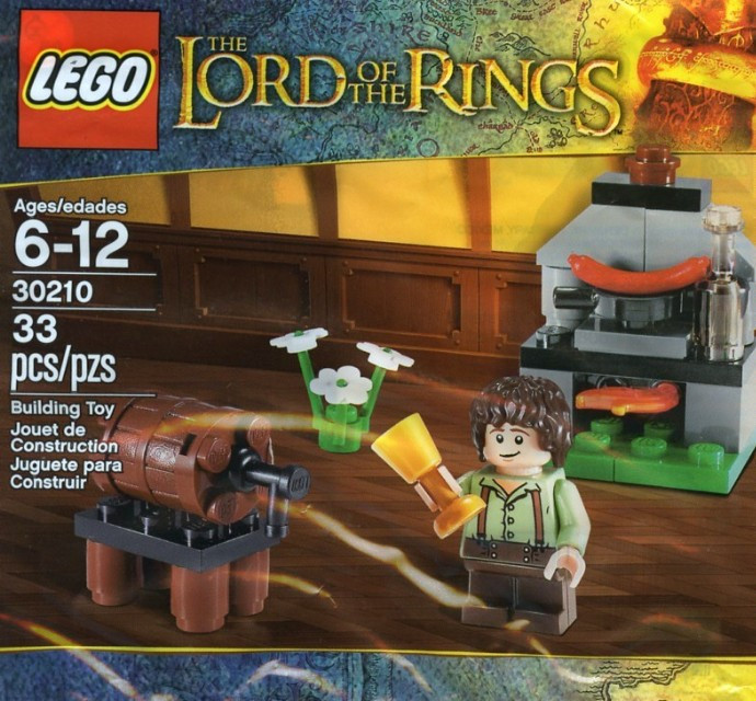 30210 1 Frodo With Cooking Corner Polybag Swooshable