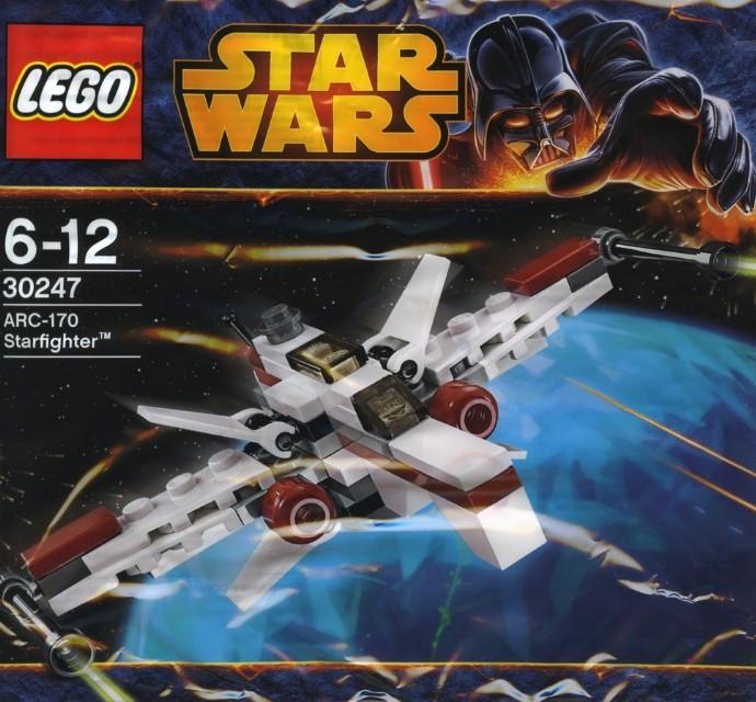 30247 1 Arc 170 Starfighter Mini Polybag Swooshable