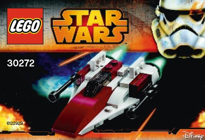 30272 1 A Wing Starfighter Mini Polybag Swooshable