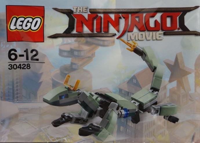 30428-1 Green Ninja Mech Dragon polybag - Swooshable