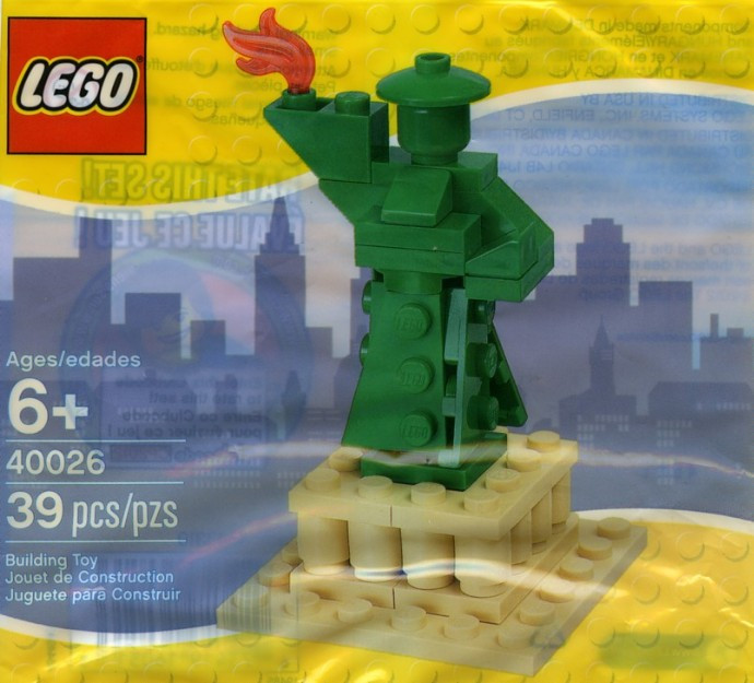40026 1 Statue Of Liberty Polybag Swooshable