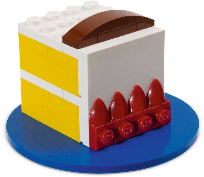 Instructions For 40048 1 Birthday Cake Polybag Is LEGO Set