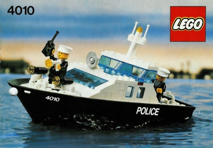 4010 1 Police Rescue Boat Swooshable