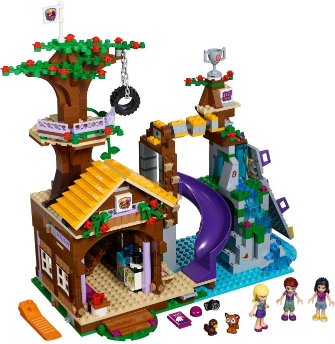 41122 1 Adventure Camp Tree House Swooshable