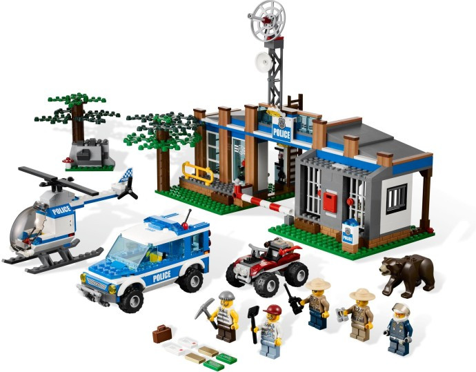 4440 1 Forest Police Station Swooshable
