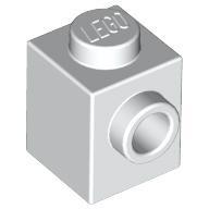 Modified 1x1 with Stud on 1 Side 87087 NEUF LEGO x 10  Dark Bluish Gray Brick