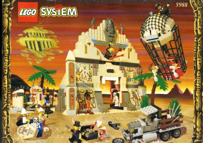 Instructions for #5988-1 Pharaoh's Forbidden Ruins