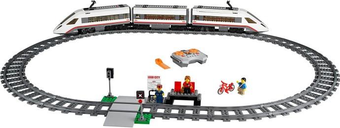 60051 1 High Speed Passenger Train Swooshable