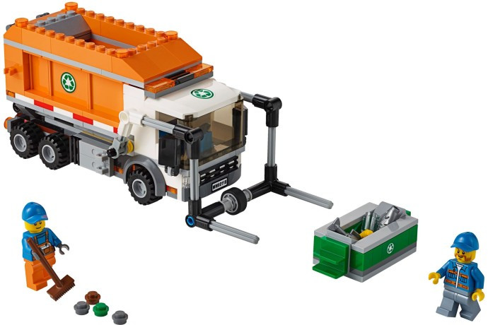 60118 1 Garbage Truck Swooshable