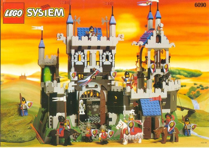 6090 1 Royal Knights Castle Swooshable