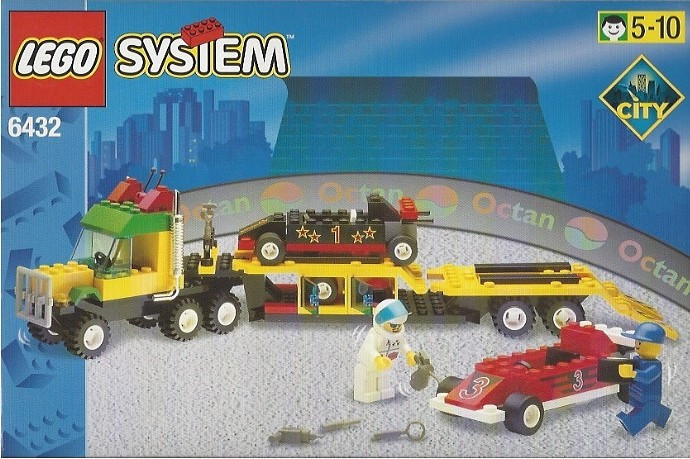 Instructions for #6432-1 Speedway Transport