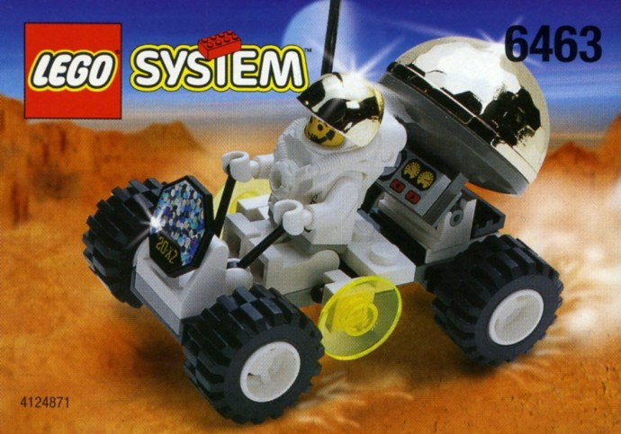 Instructions for #6463-1 Lunar Rover