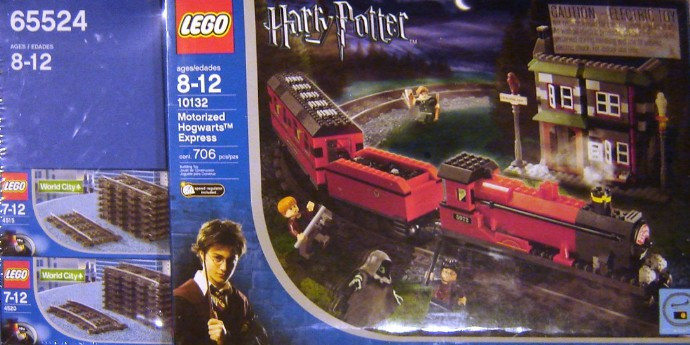 65524 1 Hogwarts Express 2nd Edition Co Pack Contains 10132 4515