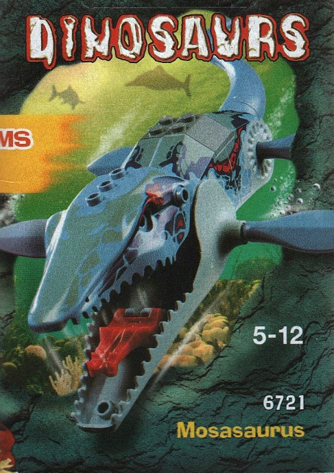 Instructions for #6721-1 Mosasaurus