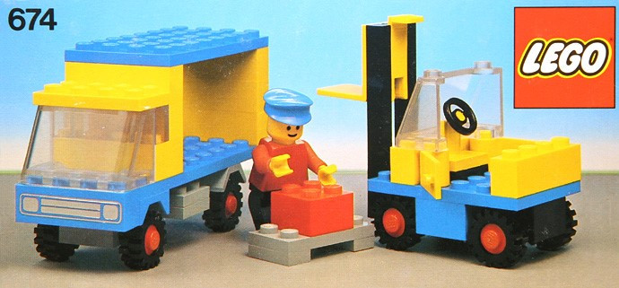 674 1 Forklift Truck Swooshable