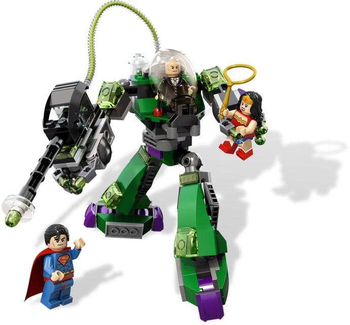 6862 2 Superman Vs Power Armor Lex Swooshable