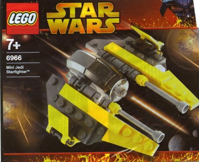 6966 1 Jedi Starfighter Mini Polybag Swooshable