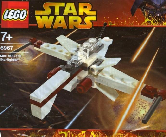 6967 1 Arc 170 Starfighter Mini Polybag Swooshable