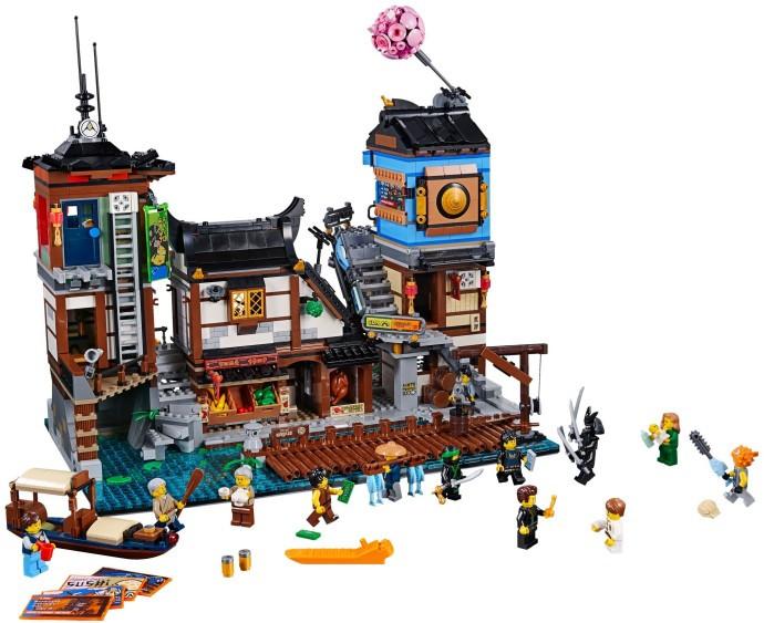 70657-1 NINJAGO City Docks - Swooshable