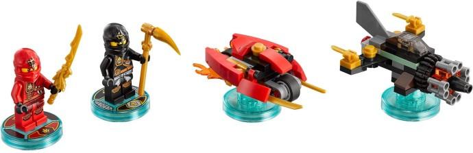 71234-1 Fun Pack - Ninjago Sensei Wu and Flying White Dragon ...