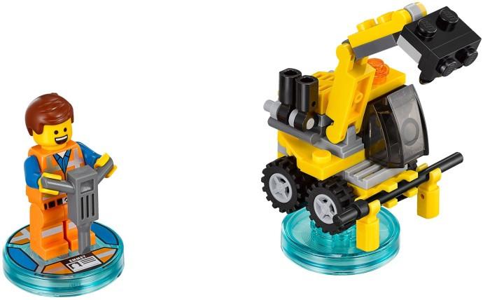 71212 1 Fun Pack The Lego Movie Emmet And Emmets Excavator