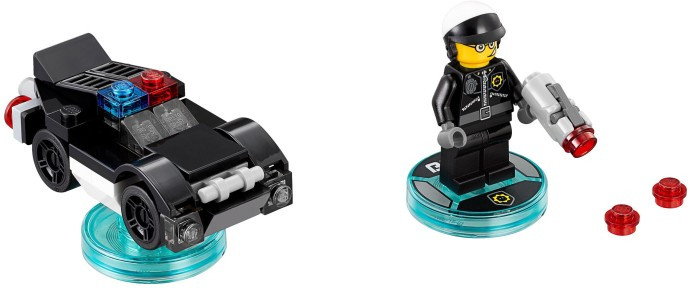 71213 1 Fun Pack The Lego Movie Bad Cop And Police Car Swooshable