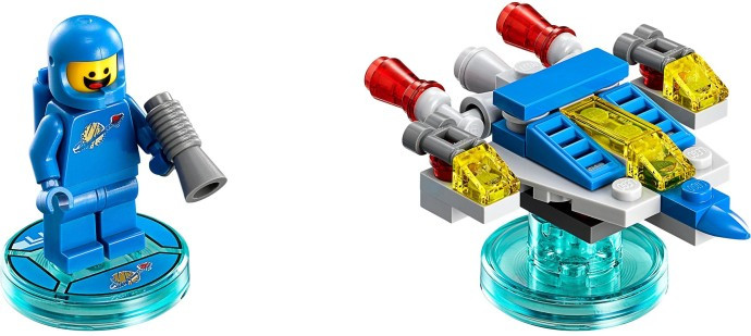 71214 1 Fun Pack The Lego Movie Benny And Bennys Spaceship