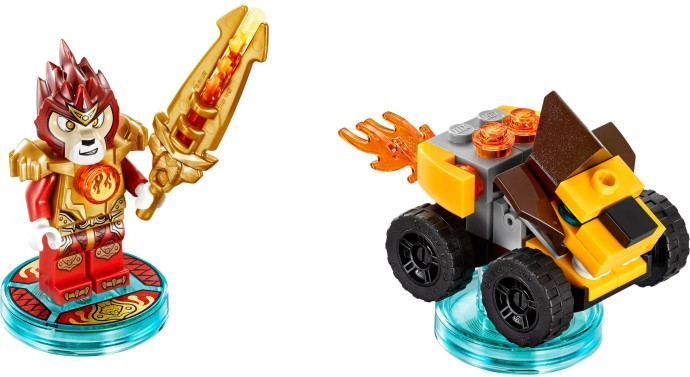 71222 1 Fun Pack Legends Of Chima Laval And Mighty Lion Rider