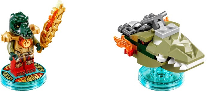 71223 1 Fun Pack Legends Of Chima Cragger And Swamp Skimmer