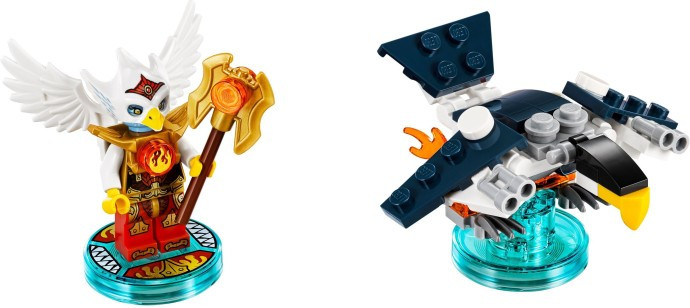 71232 1 Fun Pack Legends Of Chima Eris And Eagle Interceptor