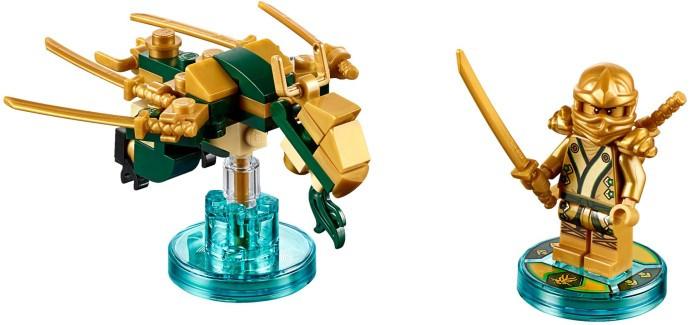71239 1 Fun Pack Ninjago Lloyd And Golden Dragon Swooshable