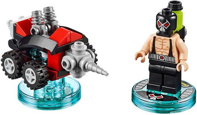 71240 1 Fun Pack Dc Comics Bane And 3 In 1 Drill Driver Swooshable