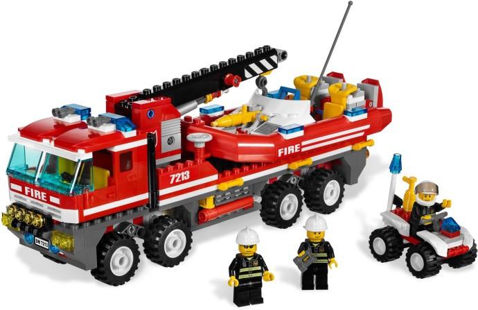 7213 1 Off Road Fire Truck Fireboat Swooshable