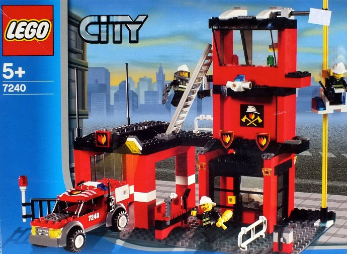 Instructions for #7240-1 Fire Station