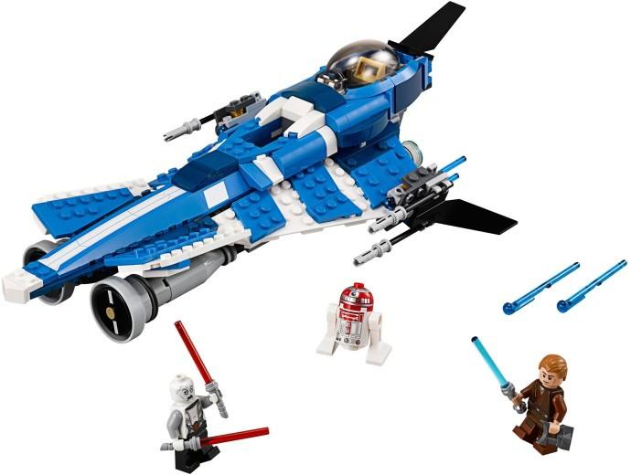 75087 1 Anakins Custom Jedi Starfighter Swooshable