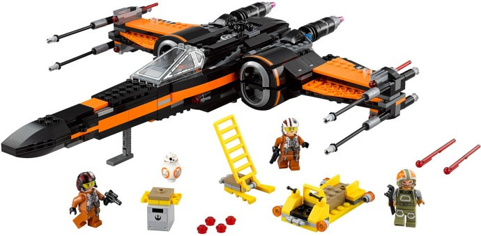 75102 1 Poes X Wing Fighter Swooshable