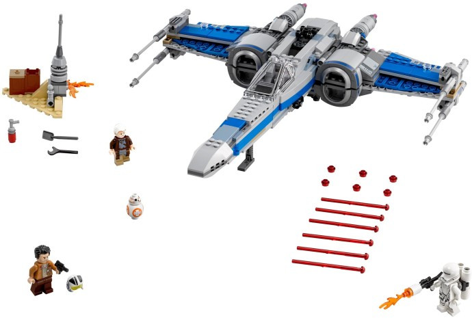 75149-1 Resistance X-Wing Fighter - Swooshable