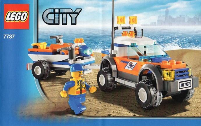 7737 1 Coast Guard 4wd Jet Scooter Swooshable