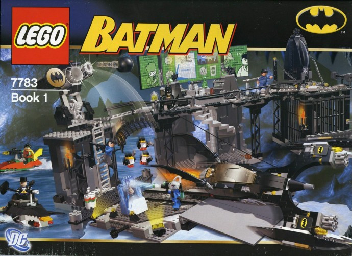 7783 1 The Batcave The Penguin And Mr Freezes Invasion Swooshable